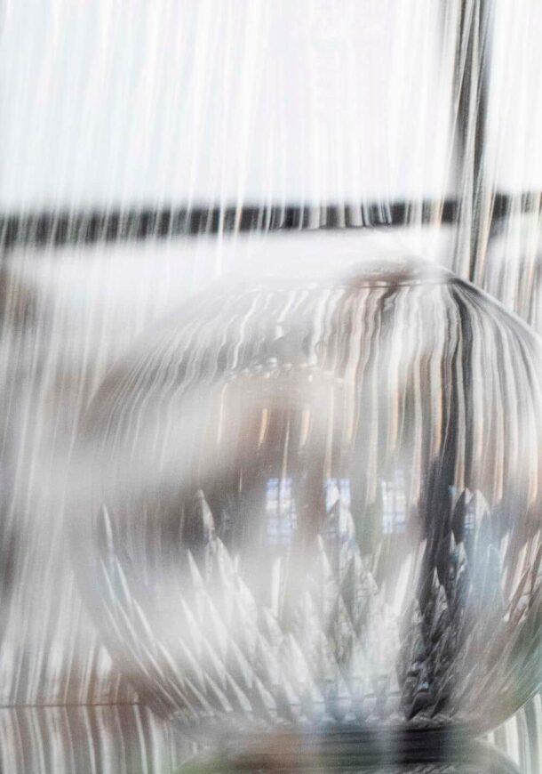 carafe en verre pour service du vin