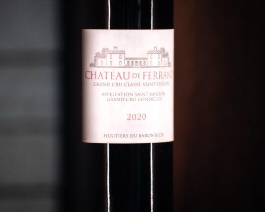 millesime 2020 chateau de ferrand vin
